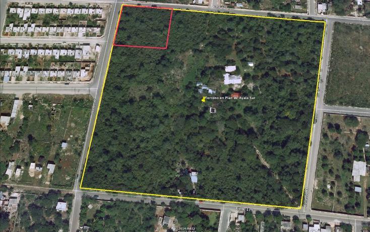Foto de terreno habitacional en venta en, plan de ayala, mérida, yucatán, 1074245 no 01