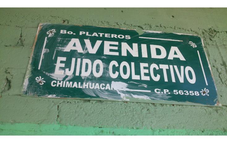 Foto de terreno habitacional en venta en  , plateros, chimalhuacán, méxico, 1311871 No. 05