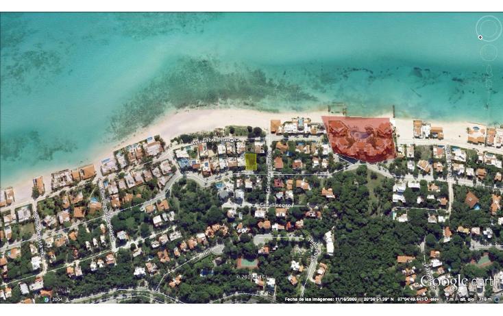 Foto de terreno habitacional en venta en  , playa car fase i, solidaridad, quintana roo, 1386971 No. 01