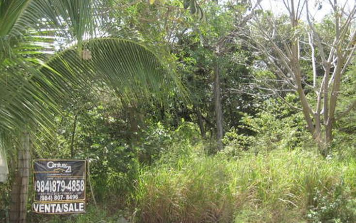 Foto de terreno habitacional en venta en  , playa car fase ii, solidaridad, quintana roo, 1096309 No. 01