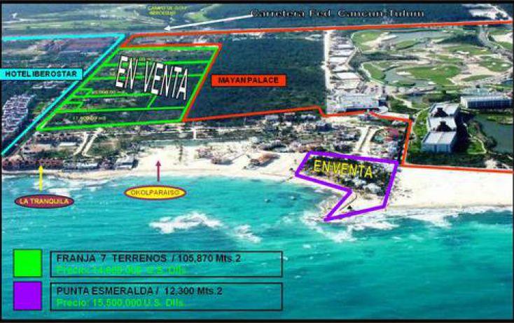 Foto de terreno comercial en venta en, playa del carmen centro, solidaridad, quintana roo, 1085541 no 01