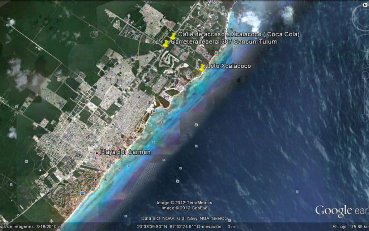 Foto de terreno comercial en venta en, playa del carmen centro, solidaridad, quintana roo, 1096273 no 02