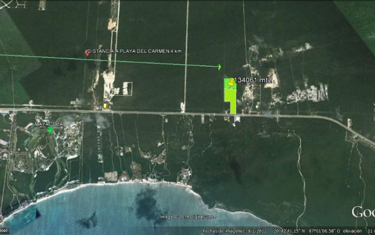 Foto de terreno comercial en venta en, playa del carmen centro, solidaridad, quintana roo, 1123725 no 02