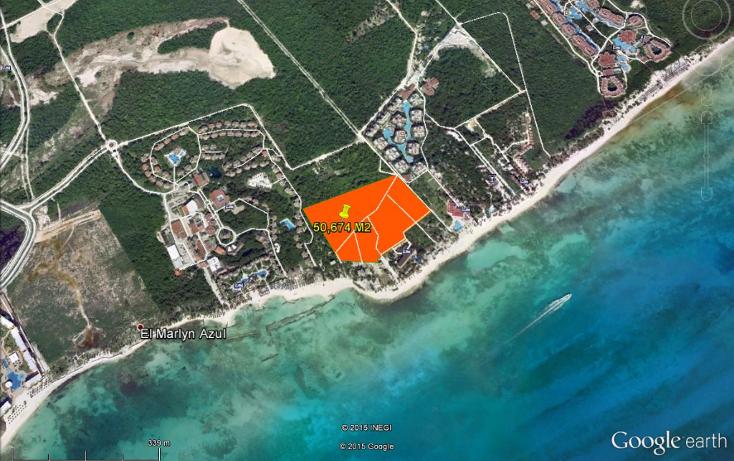Foto de terreno habitacional en venta en  , playa del carmen centro, solidaridad, quintana roo, 1279269 No. 02