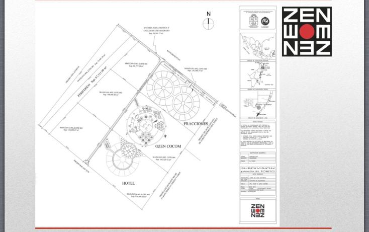 Foto de terreno habitacional en venta en  , playa del carmen centro, solidaridad, quintana roo, 1432131 No. 06