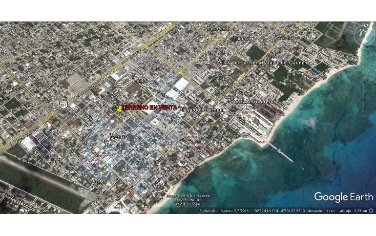Foto de terreno comercial en venta en  , playa del carmen centro, solidaridad, quintana roo, 1877832 No. 03