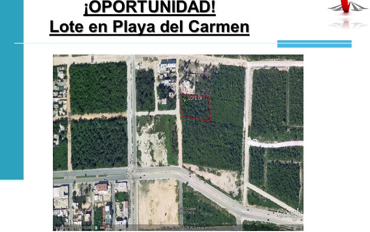 Foto de terreno habitacional en venta en  , playa del carmen centro, solidaridad, quintana roo, 1948248 No. 01