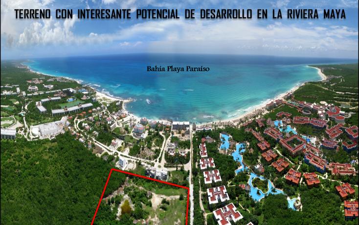 Foto de terreno habitacional en venta en  , playa del carmen centro, solidaridad, quintana roo, 1967683 No. 01