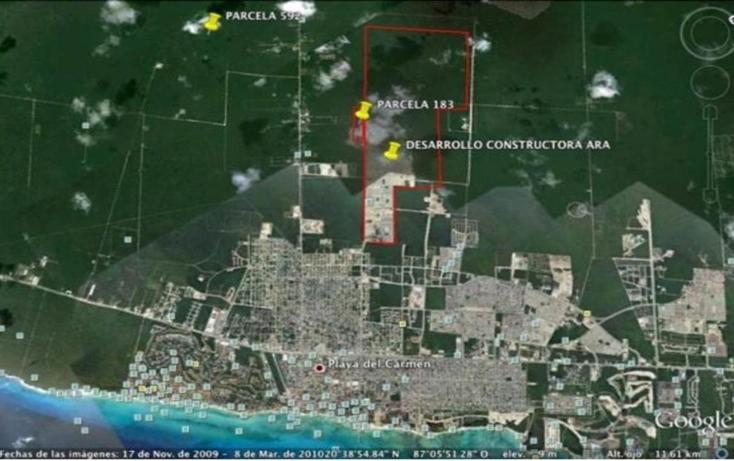 Foto de terreno habitacional en venta en  , playa del carmen centro, solidaridad, quintana roo, 2644715 No. 01