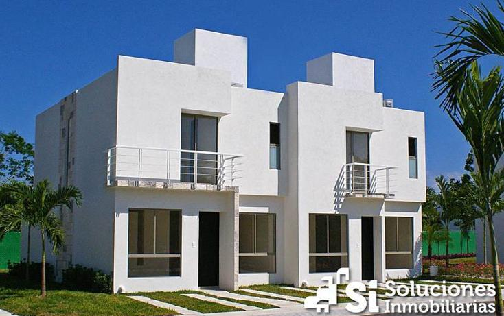Foto de casa en venta en  , playa del carmen centro, solidaridad, quintana roo, 450986 No. 01