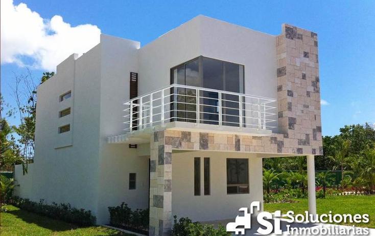 Foto de casa en venta en  , playa del carmen centro, solidaridad, quintana roo, 450988 No. 01