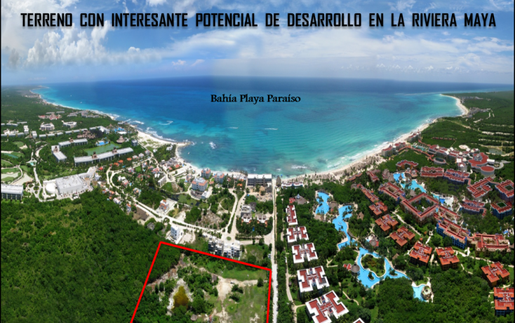 Foto de terreno habitacional en venta en, playa del carmen, solidaridad, quintana roo, 1967683 no 01