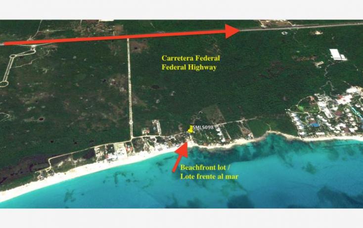 Foto de terreno habitacional en venta en playa del secreto, calica, solidaridad, quintana roo, 420438 no 14