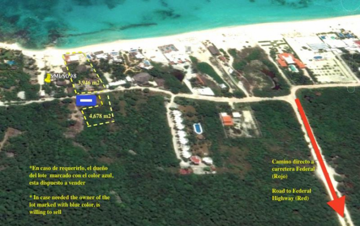 Foto de terreno habitacional en venta en playa del secreto, calica, solidaridad, quintana roo, 420438 no 16