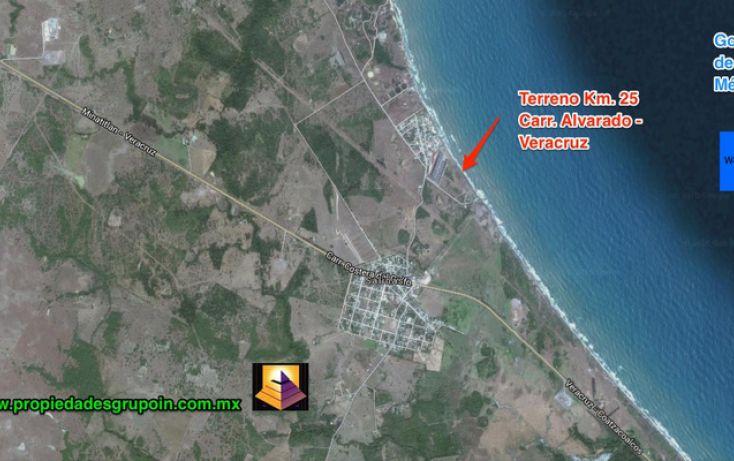 Foto de terreno habitacional en venta en, playa dorada, alvarado, veracruz, 1533008 no 01