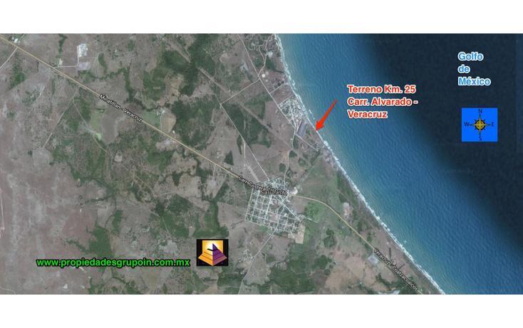 Foto de terreno habitacional en venta en  , playa dorada, alvarado, veracruz de ignacio de la llave, 1533008 No. 01