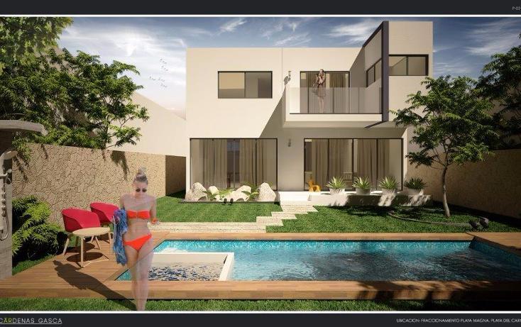 Foto de casa en venta en  , playa magna, solidaridad, quintana roo, 1237931 No. 01