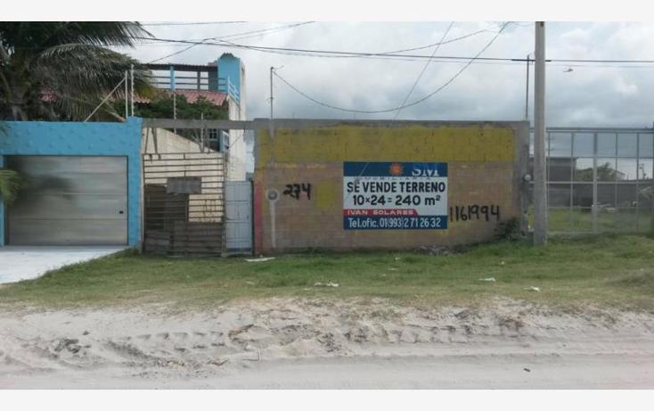 Foto de terreno habitacional en venta en  , playa norte, carmen, campeche, 1426003 No. 01
