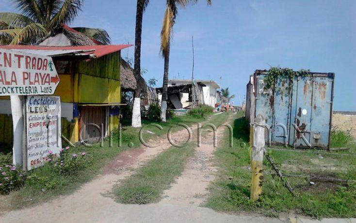 Foto de terreno comercial en venta en playa tupan, playa azul, tuxpan, veracruz, 1543640 no 02