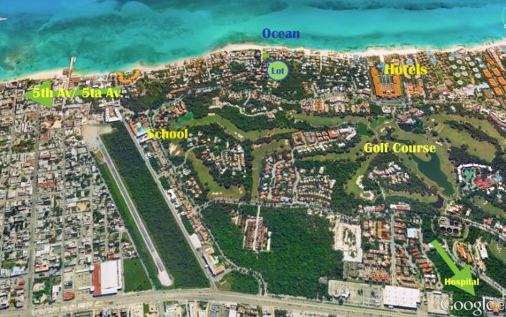 Foto de terreno habitacional en venta en playacar fase 1, playa car fase ii, solidaridad, quintana roo, 371685 no 03