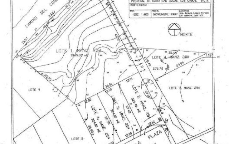 Foto de terreno habitacional en venta en plaza san lucas block 254 lot 1,2,3 4, el pedregal, los cabos, baja california sur, 1697440 no 07