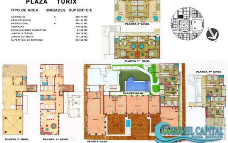 Foto de edificio en venta en plaza turix, calle 17 sur entre 20 y 25 av, andrés q roo, cozumel, quintana roo, 1155279 no 06