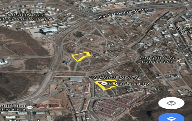 Foto de terreno habitacional en venta en  , poblado la haciendita, chihuahua, chihuahua, 1435471 No. 01