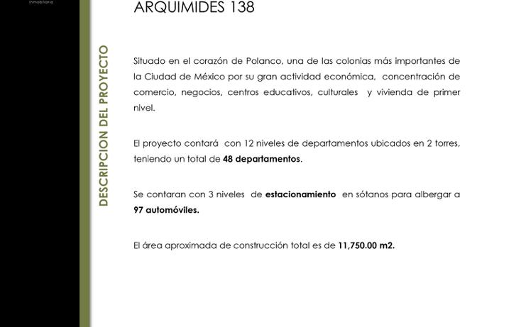 Foto de departamento en venta en  , polanco iv secci?n, miguel hidalgo, distrito federal, 1517035 No. 03