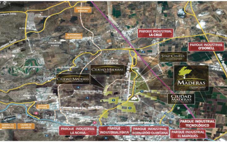 Foto de terreno habitacional en venta en poligo constituyentes, el marqués, querétaro, querétaro, 1062793 no 02