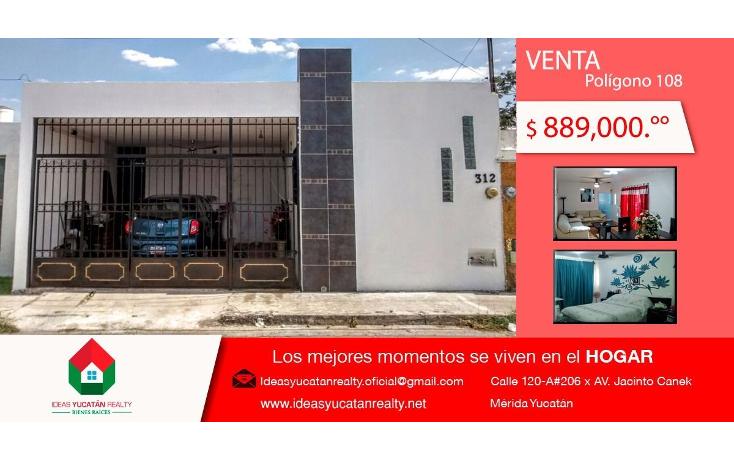 Foto de casa en venta en  , polígono 108, mérida, yucatán, 1942916 No. 01