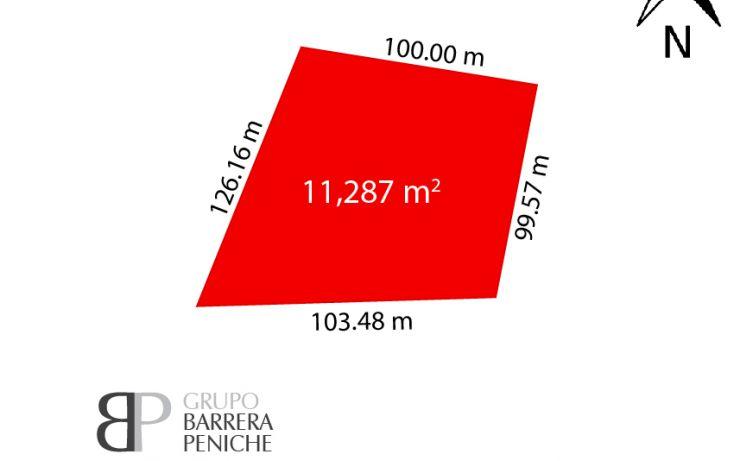 Foto de terreno habitacional en venta en, polígono ctm, mérida, yucatán, 2043120 no 03