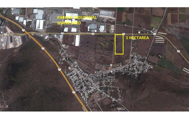 Foto de terreno comercial en venta en  , polígono empresarial santa rosa jauregui, querétaro, querétaro, 1266001 No. 01