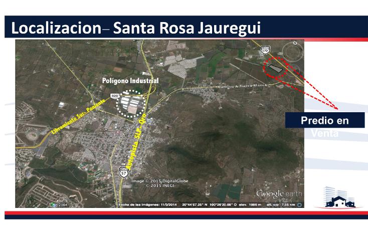 Foto de terreno comercial en venta en  , polígono empresarial santa rosa jauregui, querétaro, querétaro, 1363339 No. 02