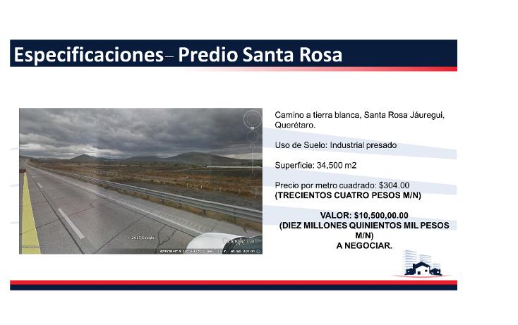 Foto de terreno comercial en venta en  , polígono empresarial santa rosa jauregui, querétaro, querétaro, 1363339 No. 03