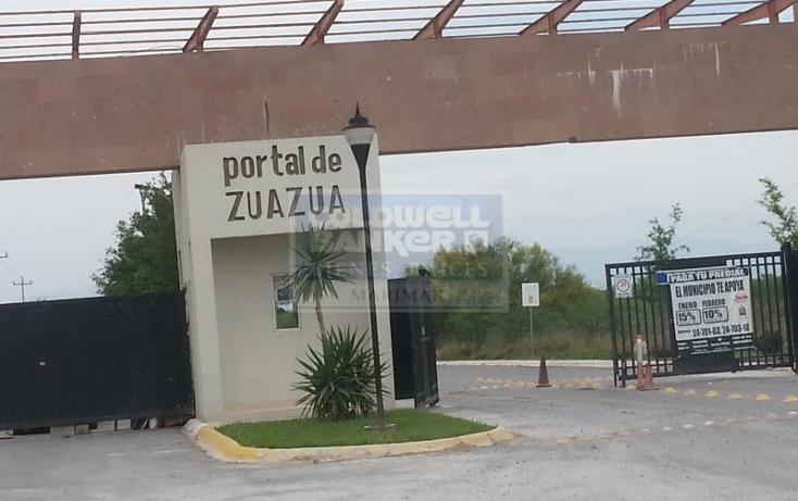 Foto de terreno habitacional en venta en  , portal de zuazua, general zuazua, nuevo león, 467670 No. 01