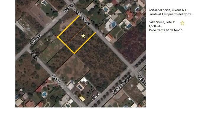 Foto de terreno habitacional en venta en  , portal del norte, general zuazua, nuevo león, 1182383 No. 02