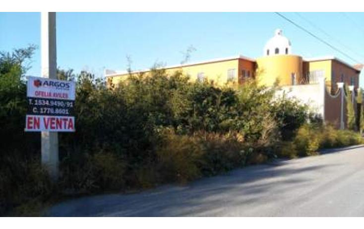 Foto de terreno habitacional en venta en  , portal del norte, general zuazua, nuevo león, 1562734 No. 01