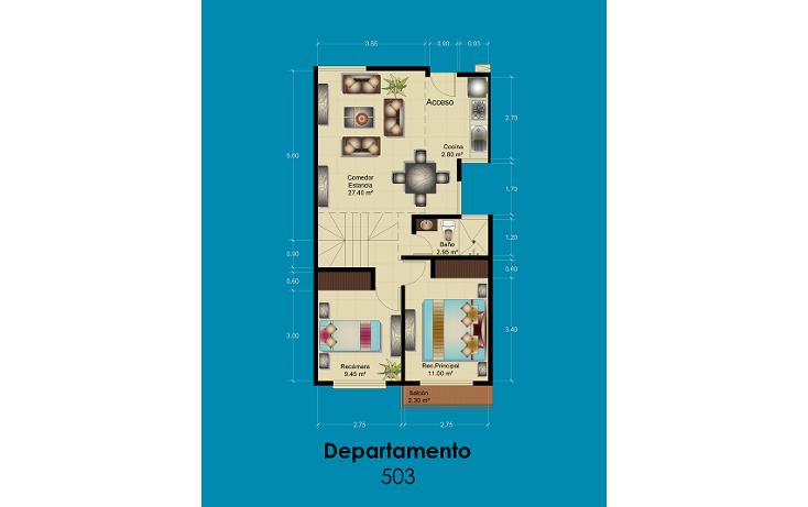 Foto de departamento en venta en  , portales norte, benito juárez, distrito federal, 1611540 No. 09