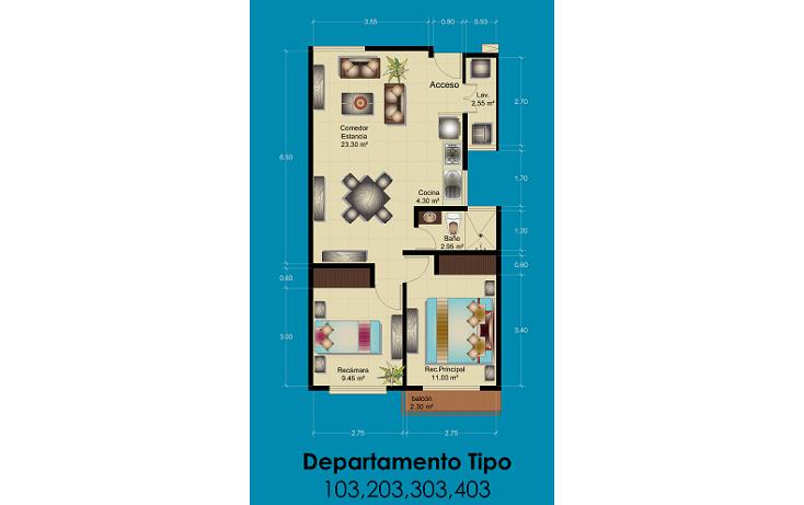 Foto de casa en venta en  , portales norte, benito juárez, distrito federal, 1619994 No. 08