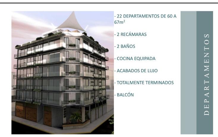 Foto de departamento en venta en  , portales norte, benito juárez, distrito federal, 2036153 No. 01
