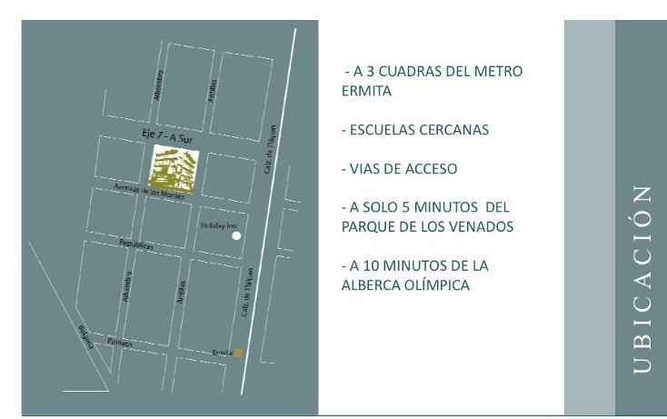 Foto de departamento en venta en  , portales norte, benito juárez, distrito federal, 2036153 No. 02