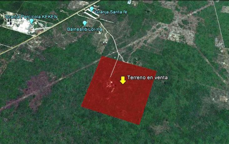Foto de terreno comercial en venta en, poxila, umán, yucatán, 1107945 no 02