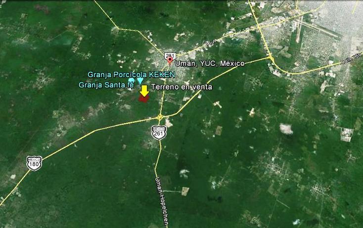Foto de terreno comercial en venta en, poxila, umán, yucatán, 1107945 no 05