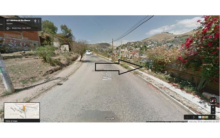Foto de terreno habitacional en venta en  , pozas arcas, oaxaca de ju?rez, oaxaca, 1325651 No. 01