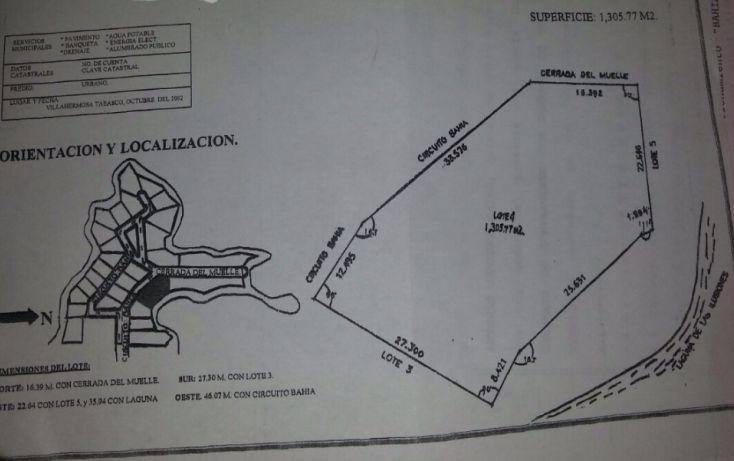Foto de terreno habitacional en venta en, prados de villahermosa, centro, tabasco, 1280605 no 04