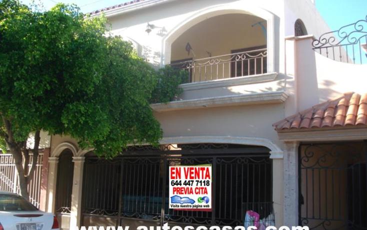 Foto de casa en venta en  , prados del tepeyac, cajeme, sonora, 1758260 No. 01