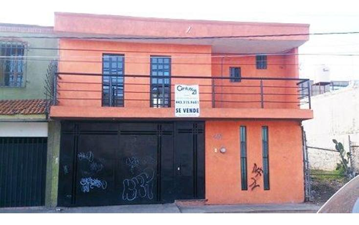 Foto de casa en venta en  , prados verdes, morelia, michoacán de ocampo, 1864772 No. 01