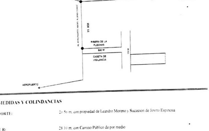 Foto de terreno habitacional en venta en predio rustico innominado , ribera las flechas, chiapa de corzo, chiapas, 3431622 No. 03