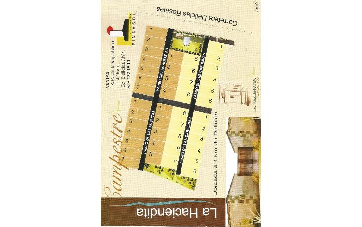 Foto de terreno habitacional en venta en  , pri, rosales, chihuahua, 1066893 No. 04