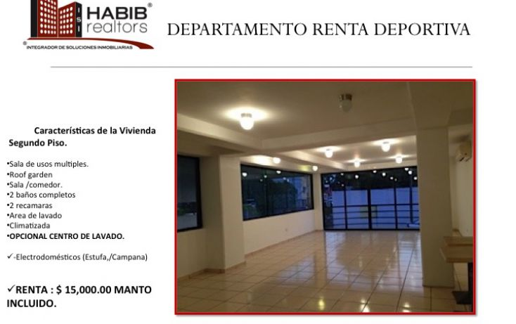 Foto de departamento en renta en, primero de mayo, centro, tabasco, 1401641 no 01